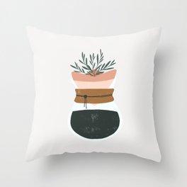 good coffee good life Throw Pillow