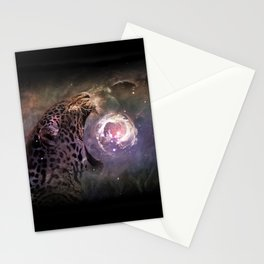 Jaguar Nebula Stationery Cards