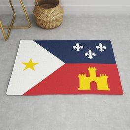 Acadiana Flag Rug