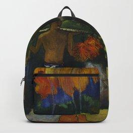 """Paul Gauguin """"Landscape in Tahiti (Mahana Maà)"""" Backpack"""