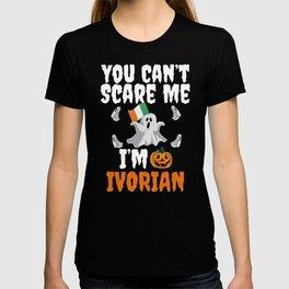 Can't scare I'm Ivorian Halloween Ivory Coast T-shirt