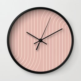 Minimal Line Curvature X Wall Clock