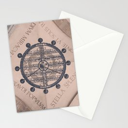Vintage MontSerrat Ceiling Chandelier  Stationery Cards