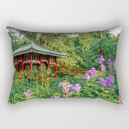 Garden Temples Rectangular Pillow