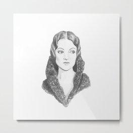 Myrna Loy Metal Print