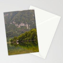 Julian Alps Lake Bohinj Slovenia Travel Photography Reflection Stationery Cards