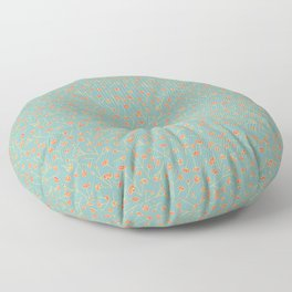 New Life Repeat Pattern Floor Pillow