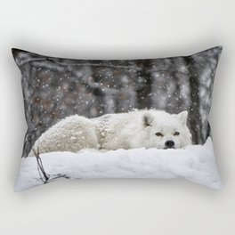 Dreams of warmer weather Rectangular Pillow