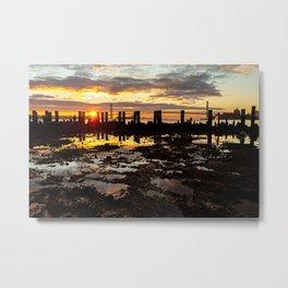 Sunrise over Brooklyn Metal Print