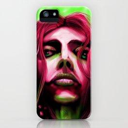 FaceonGreen iPhone Case