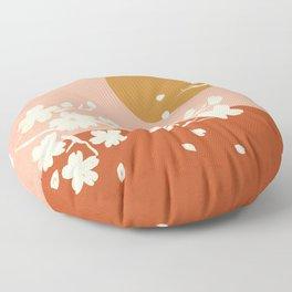 Sakura Blossom Bliss Floor Pillow