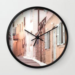 Greece, Nisyros island, Dodecanese Wall Clock