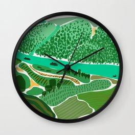 Donau und Rhein Wall Clock