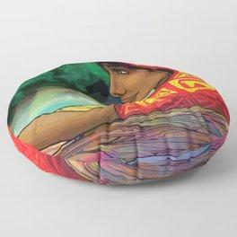 Bandera indígena - Kuna Flag Floor Pillow
