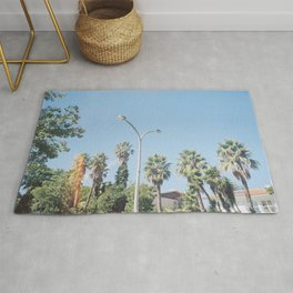 A Family of Trees Rug
