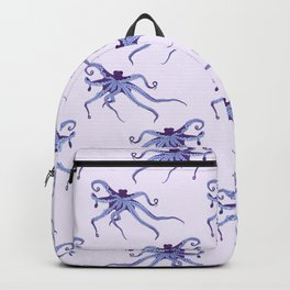 Awesome Purple Octopus Backpack