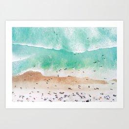 Beach Mood Kunstdrucke