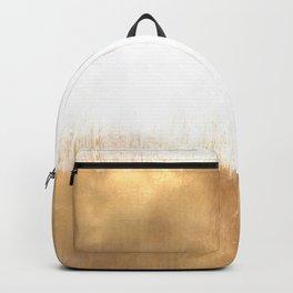 Brushed Gold Backpack