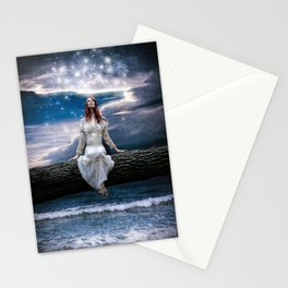 Wishing for Neverland Stationery Cards