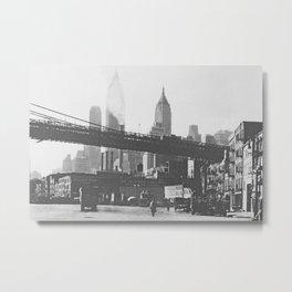 NEW YORK CITY VII Metal Print