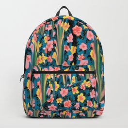 MELTED FLOWERS Backpack