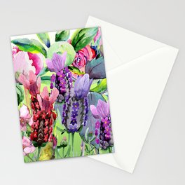 The Lavender Garden Stationery Cards