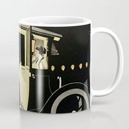 "C Coles Phillips ""Flanders Colonial Electric"" Vintage Car Coffee Mug"