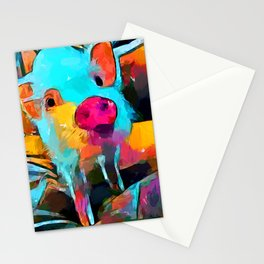Mini Pig Stationery Cards