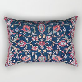 Heriz Azerbaijan North West Persian Rug Print Rectangular Pillow