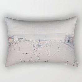 Urban Silence Rectangular Pillow