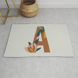 Letter Collection - A Rug