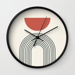 Minimalist lines no3 Wall Clock