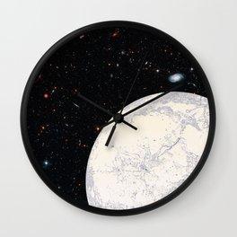 Moon machinations Wall Clock