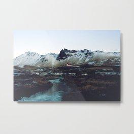 Iceland // Vik Metal Print