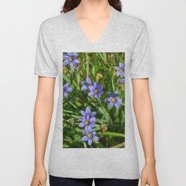 Wild Violet Unisex V-Neck