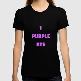 i purple bts T-shirt