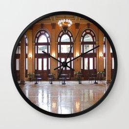 Main Street Station in Richmond, VA Wall Clock
