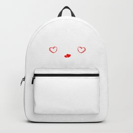 I Hate Valentines Day Hearts Romance Valentinus Cupids Dating Lovers Gift Backpack