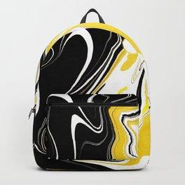 Marbled Yellow & Black II Backpack