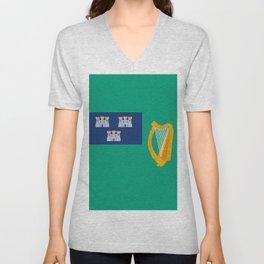 Flag of Dublin Unisex V-Neck