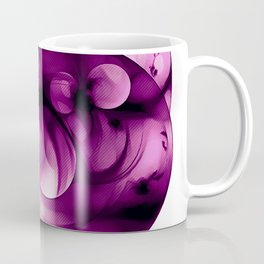 abstract fractals 1x1 reacdei Coffee Mug