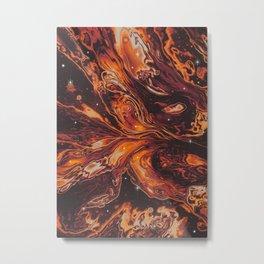 BAD KARMA Metal Print