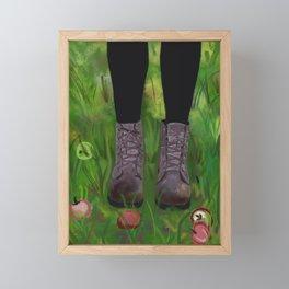 Doc Marten Boots #popart Framed Mini Art Print