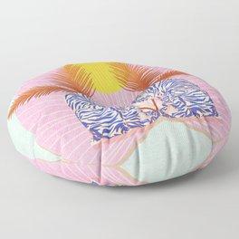 Loud Tigers Floor Pillow