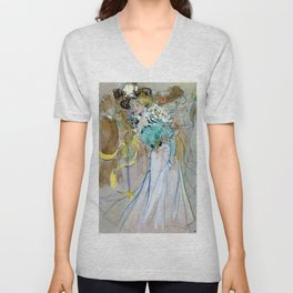 Ramon Casas - Celebrations In Toulon - Digital Remastered Edition Unisex V-Neck