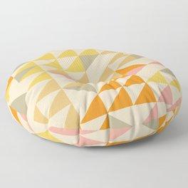 Mellow Triangles Floor Pillow