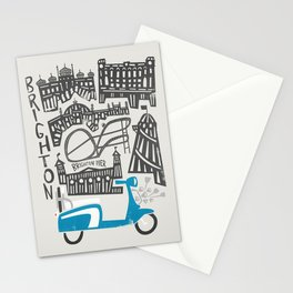 Brighton Cityscape Stationery Cards