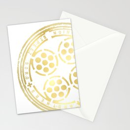 union street: paved in gold Stationery Cards