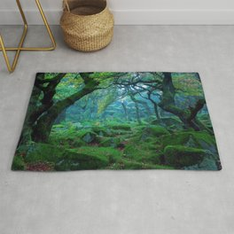 Enchanted forest mood Rug