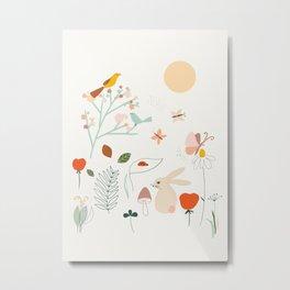 Meadow Blossom Metal Print